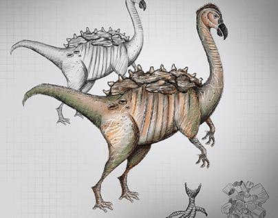 3D Creature Asset - Aragasaurus