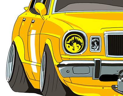 '77 Toyota Mark II (MX41)