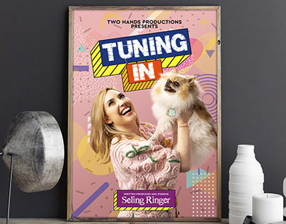 Tuning In Drama Poster Design