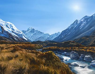 Hooker Valley NZ