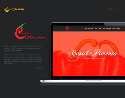 Casal Pimenta - Website Institucional