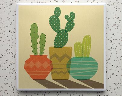Robot Candy Coaster Designs