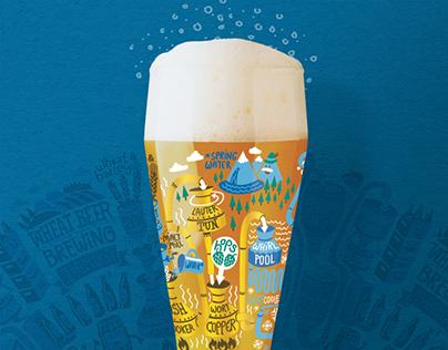 Ritzenhoff wheat beer glass