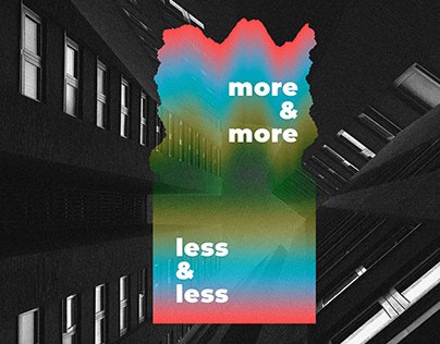 more & more, less & less