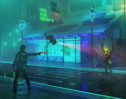 Surrender of the Resistant | Cyberpunk Chennai 2099