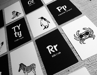 Állatos ABC kártyák // Animal alphabet cards