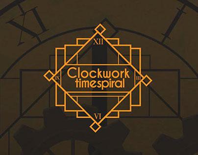 Interfaces do jogo Clockwork Timespiral.