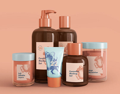 Cosmetics Mockup + Free Sample