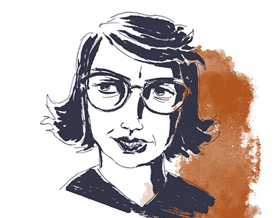Flannery O'Connor Presentation Illustrations