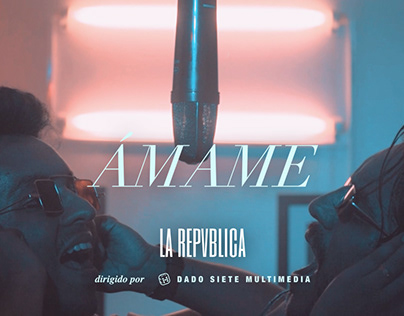 Ámame/ Music Video