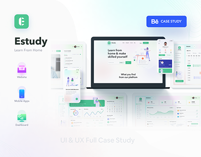 eStudy - Complete case study of a eLearning platform