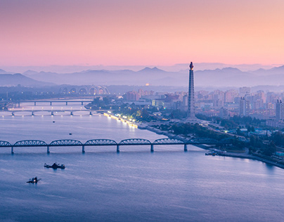 Beautiful Landscapes of Pyongyang City