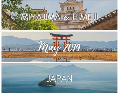 Miyajima & Himeji, Japan - May 2019