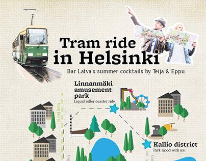 Latva Bar - Tram ride in Helsinki DRINK MENU