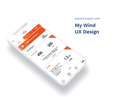 App MyWind - Redesign