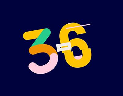 36 Days Of Type - 2018