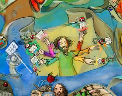 Illustration for Children Magazine.