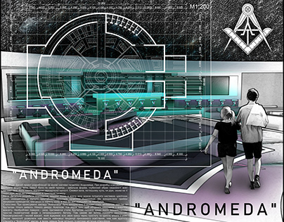 "Concept project cafe planetarium: ""ANDROMEDA"""