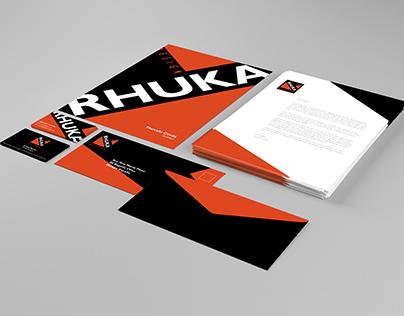 Rhuka Design Identity Rebrand