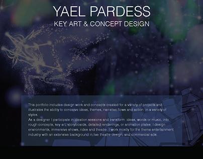 Yael Pardess Key Art and Concept Design