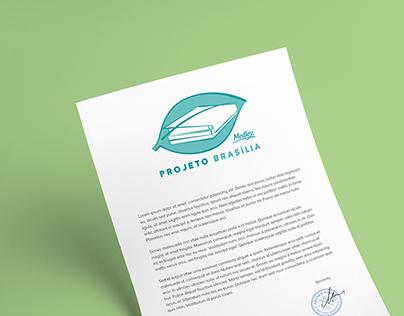 Projeto Brasília   Logo design