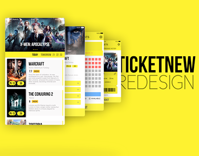 TicketNew Redesign