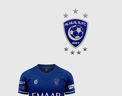 T shirt For Al Hilal FC 2021