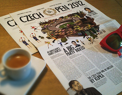 Czech Centre London Newspare Leaflet