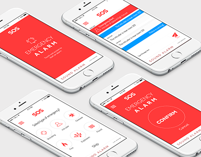 Mobile App Design - SOS