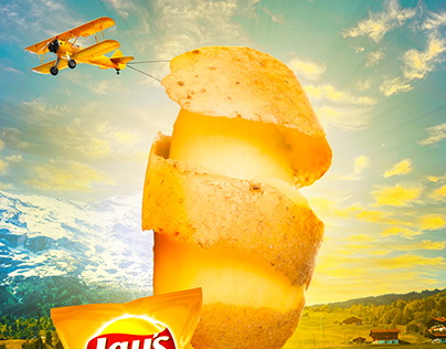 Lays advertisement design