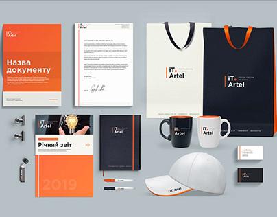 IT.Artel. Брендбук, фирменный стиль, логотип