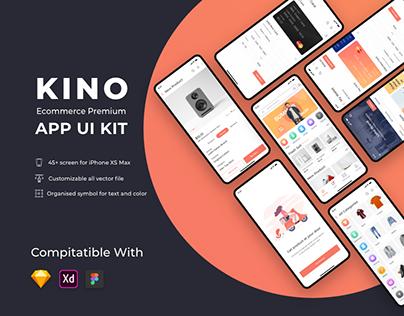 Kino Ecommerce App UI Kit