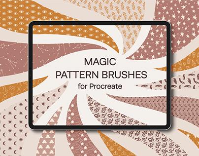 Magic Pattern Brushes for Procreate