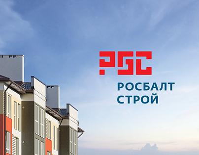 Логотип Росбалтстрой (Rosbaltstroy logo and corpid)