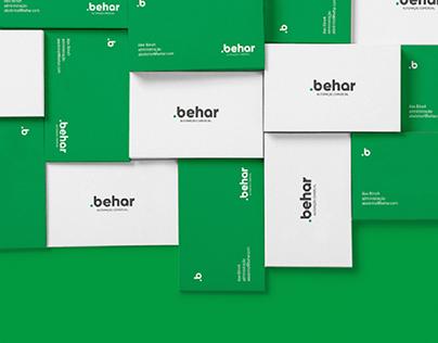 Behar Automação Comercial - Identidade Visual