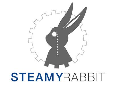 Steamyrabbit | Logo & Lettering design