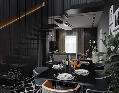 Cozy modern studio - living