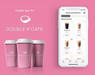 Double R Cafe Coffee App UI / UX design