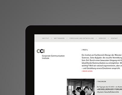 CCI — Corporate Communication Institute