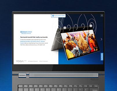 Lenovo YogaC930 Retail Demo Application