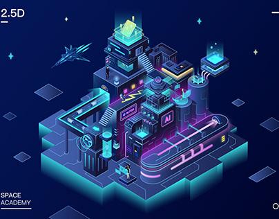 2.5D Tech City