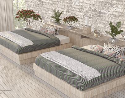 Archl' Interior; Bed Disclosure