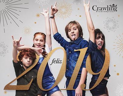 Campanha de boas festas - Crawling Jeans