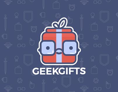 GeekGifts Branding