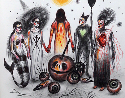 Drawlloween - Trick or Treat Party