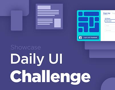 Daily UI Challenge - My Showcase