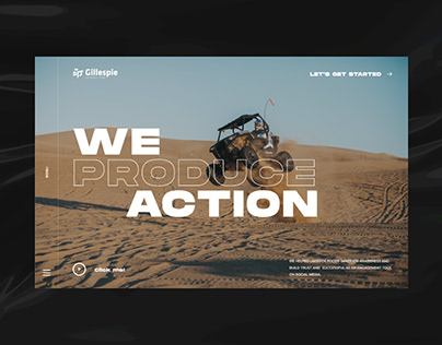 GILLESPIE PRODUCTIONS: REDESIGN