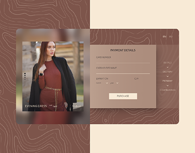 DailyUI - 002 | Credit card checkout