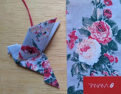 Acessórios em Origami Têxtil