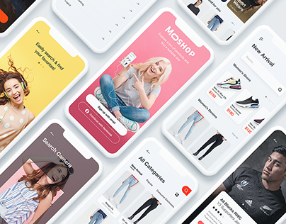 More Shop - UI Kit